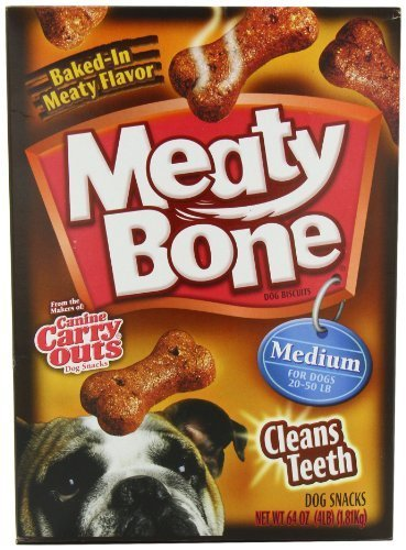 - Meaty Bone Dog Biscuits, Medium, 64 Ounce by Meaty Bone