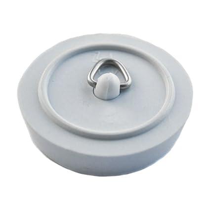 WHITE BATH AND SINK PLUG 45mm (1 3/4