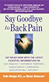 Say Goodbye to Back Pain, Emile Hiesiger and Marian Betancourt, 1476792771
