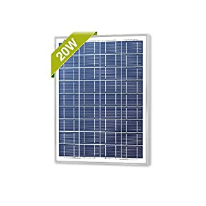 Newpowa 20w Watts 12v Poly Solar Panel Module Rv Marine Boat Off Grid