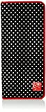 Prym 612181 Polka Dot Design Black White Empty Knitting Needle Case   40 x 43cm