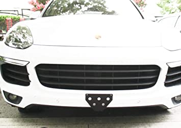 955//957//958 Installs in Seconds CravenSpeed The Platypus License Plate Mount for Porsche Cayenne Made in USA No Drilling | 2003-2018 Made of Stainless Steel /& Aluminum