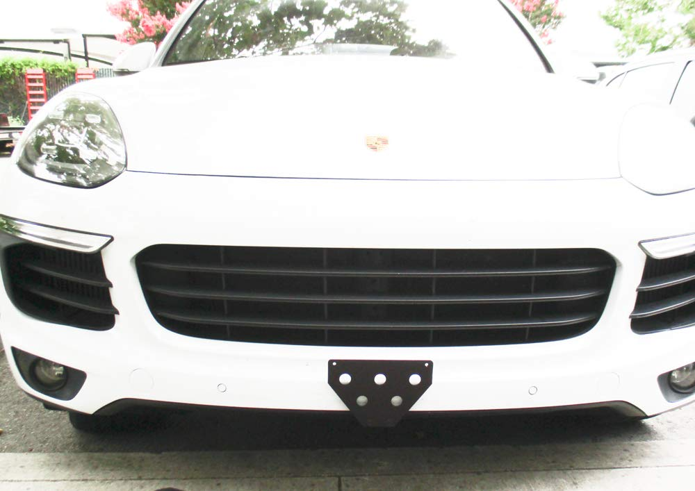 STO N SHO Removable License Plate Bracket for 2017 Porsche Cayenne and Cayenne S STO-N-SHO