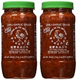 Huy Fong Fresh Chili Garlic Sauce 18-Ounce (Pack of 2)