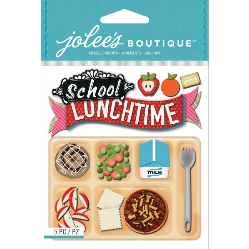 (Jolee's Boutique Dimensional Stickers, School Lunch)