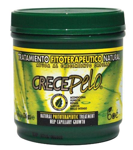 Crece Pelo Natural Tratamiento 240 ml (Pack de 6): Amazon.es ...
