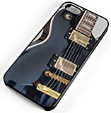 iPhone Case Fits Apple iPhone 8 PLUS 8+ Black Electric Guitar Solo Getting Band Back Together Black Rubber
