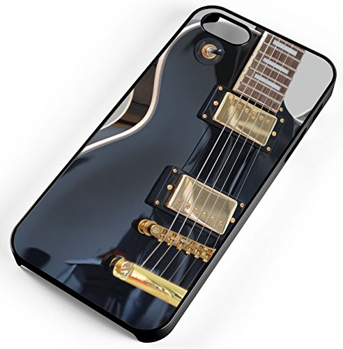 iPhone Case Fits Apple iPhone 7 PLUS 7+ Black Electric Guitar Solo Getting Band Back Together Black Plastic by TYD Designs