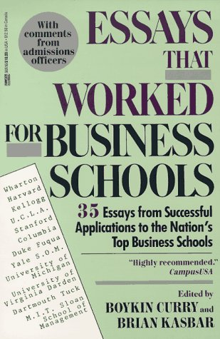 Essays examples business school bad high