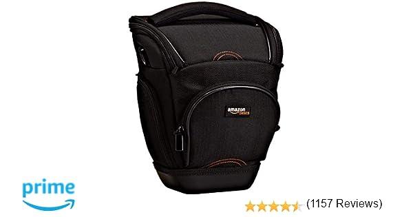 AmazonBasics - Funda para cámara de fotos réflex, color negro ...
