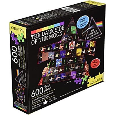 Aquarius Pink Floyd 2 Sided Diecut Puzzle (600 Piece): Pink Floyd, Nick Mason, Roger Waters, David Gilmour, Richard Wright: Toys & Games