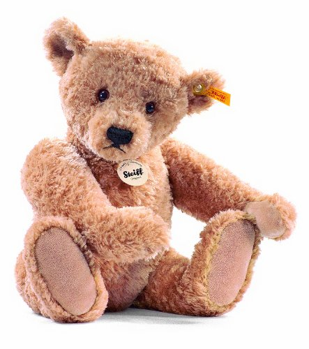 Steiff Elmar Teddy Bear Plush, Golden Brown, 32cm