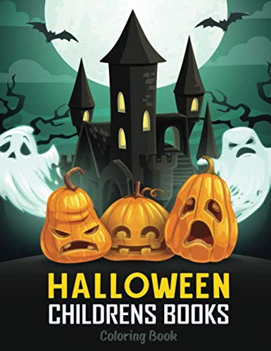 Halloween Cards For Preschoolers (Halloween Childrens Books: 40 Relax coloring book for Kids, Toddlers and)