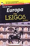 capa de Guia de Viagem Europa Para Leigos