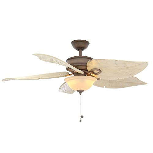 Hampton Bay Costa Mesa 56 In. Indoor and Outdoor Weathered Zinc Ceiling Fan