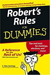 Image of the product Roberts Rules For that is listed on the catalogue brand of Brand: For Dummies.