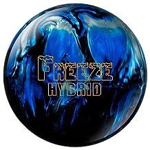 Columbia 300 Freeze Hybrid Bowling Ball, Black/Blue/Silver
