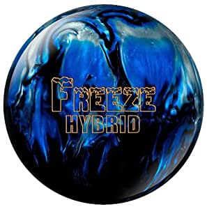 Columbia 300 Freeze Hybrid Bowling Ball, Black/Blue/Silver, 16