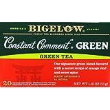 "Bigelow ""CONSTANT COMMENT"" Green Tea - 20 Count (4 Pack)"