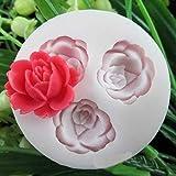 Cake molde herramienta,Silicona Fondant pastel molde de decoración de torta de las herramientas rosa