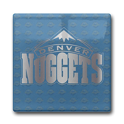 Denver Nuggets Platinum Logo Coasters Cork Pat (Denver Nuggets Bag)