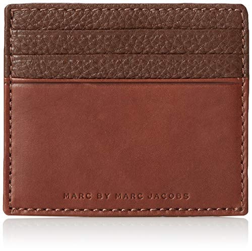 Marc by Marc Jacobs Classic Leather Credit Card Case, Brown