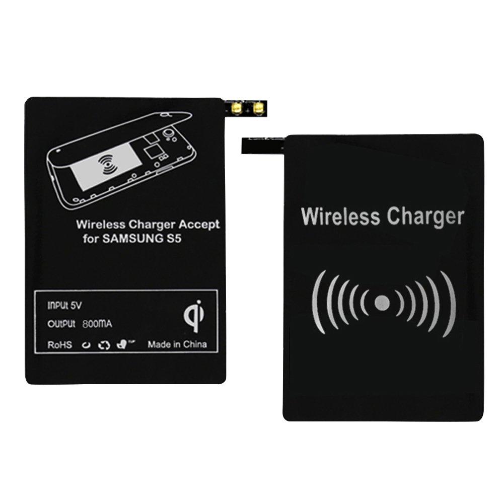 Qi cargador inalámbrico carga receptor Kit de memoria de ...