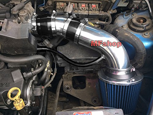 2001 2002 2003 2004 2005 2006 2007 2008 2009 Chrysler PT Cruiser 2.4L L4 Non-Turbo Air Intake Filter Kit System (Black Accessories with Blue (Blue Chrysler Intake System)