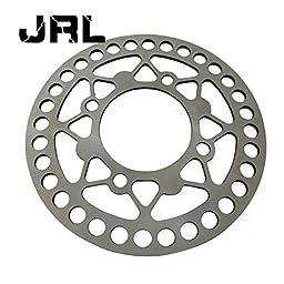 JRL 200mm Rear Brake Disc Disk Rotor For Pit Pro Trail Quad Dirt Bike ATV Buggy