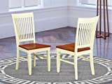 East West Furniture Weston room chairs - Wooden