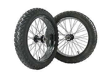 """Bike RIDEWILL par ruedas Fat Bike 20"""" y techados 20 x 4,00 cámaras"""