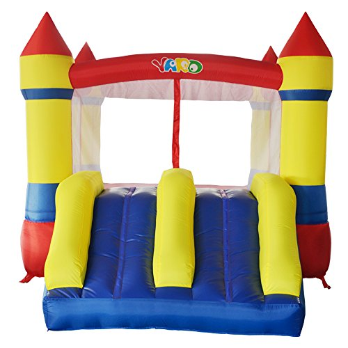 Yard Inflatable Bounce House Bouncy Castle Bouncer Jumper Slide with Blower (Bouncy Castles Commercial compare prices)