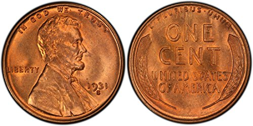 Cent Rare Coin (1931 S WHEAT CENT RARE REPRODUCTION)