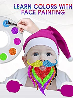 Learn Colors With Face Painting