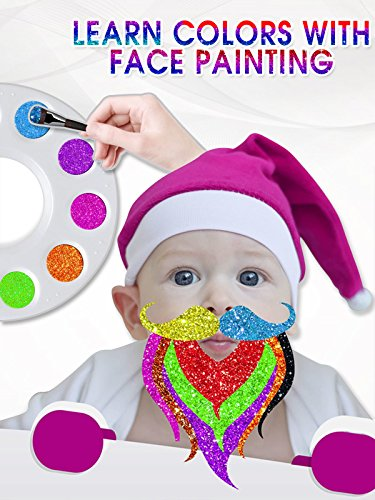 Simple Face Paintings For Halloween (Learn Colors With Face)