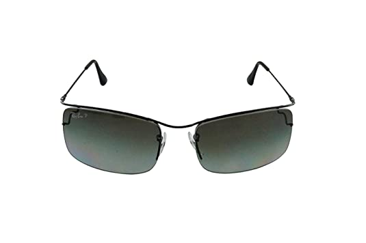 46c6d4def9 Amazon.com  Ray-Ban FLIP OUT RB3499 Sunglasses 002 T3-5818 - Black Frame