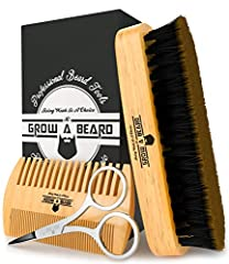 The Grow A Beard Set, Have The Highest Reputation For Polishing And Maintaining All Kind Of Beards, That Are Able To Hold Moisture, Lift Away The Dust, And Distribute The Natural Oil To All Your Beard. The Military Style Set Has Bristles That...