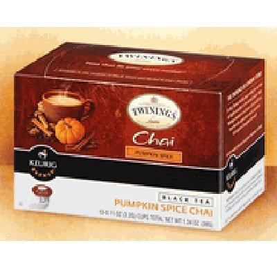 Twinings Pumpkin Spice Chai Tea Keurig K-Cups, 72 Count by Twinings
