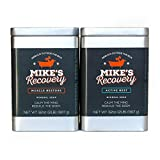 Mike's Recovery 2lb Classic Tin Mineral Soak- Bath Salt Muscle Restore - Mikes Recovery (Rest & Restore Combo)