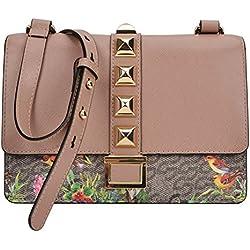 Louvier Princes' Garden Small Cross body Handbag (Multi/Taupe)