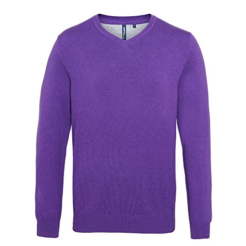 Mens Purple Sweater