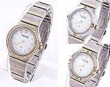 Anne Klein 12/2217WMST Interchangeable Crystal Gold Stainless Steel Watch (Retail Price: $250)