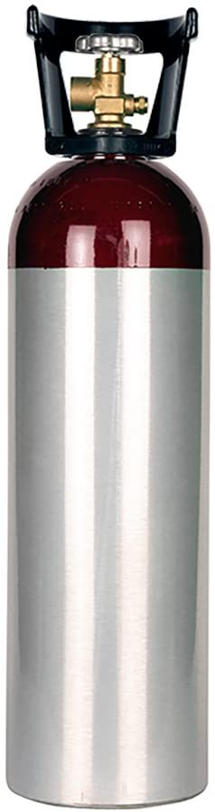 New 60 cu ft Aluminum Nitrogen Cylinder with CGA580 Valve