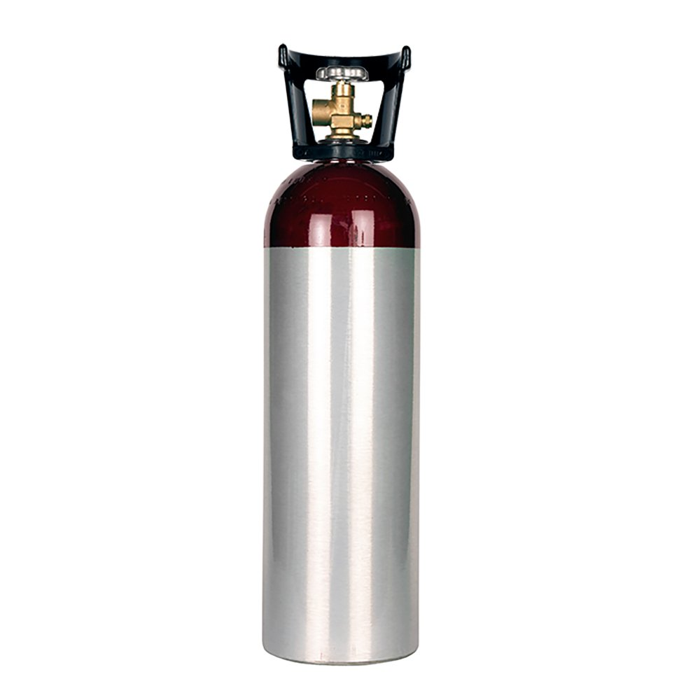 New 60 cu ft Aluminum Nitrogen Cylinder with CGA580 Valve by Varies
