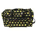 Gym Dance Cheer Travel Carry On Foldable Hand Duffle Bag 22 inch Fashion Multi Pocket Sports Lightweight Flight Printed Luggage Bag Lady Girls ND22-50-B