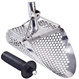 CooB Sand Scoop for Detecting Shovel Stainless Steel Hunting Detector Tool (Hexahedron -10H)