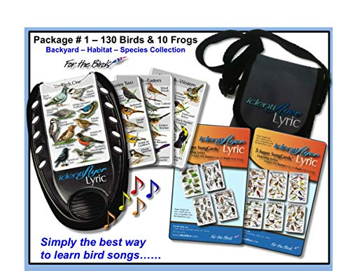 Birdsong IdentiFlyer Lyric,with 7 SongCards for 130 Birds and 10 Frogs & CarryingCase - Note: The Lyric is Out of Stock and WE Will Ship IT at The END of -