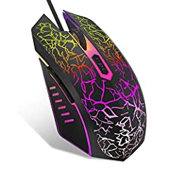 Description:This is a new 2400 DPI 6 Button USB Wired Gaming Mouse, with multifunction, such as, high quality wire material: braided wire sync equipped the strong defense magnet ring which can strong anti-interference, Ultra-strong and durabl...