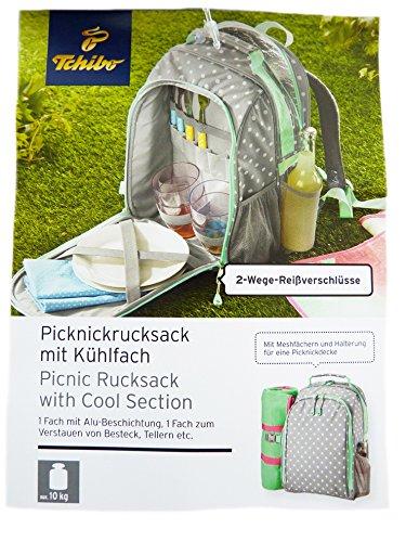 TCM-Tchibo-Picknickrucksack-Picknick-Rucksack-mit-Khlfach-Khltasche