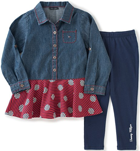 tommy-hilfiger-little-girls-toddler-denim-tunic-with-leggings-set-blue-4t